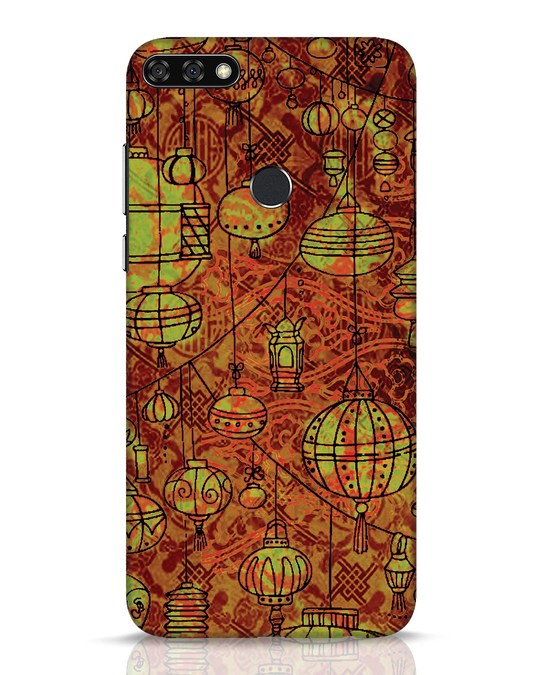 Shop Chinese Lanterns Huawei Honor 7C Mobile Cover-Front