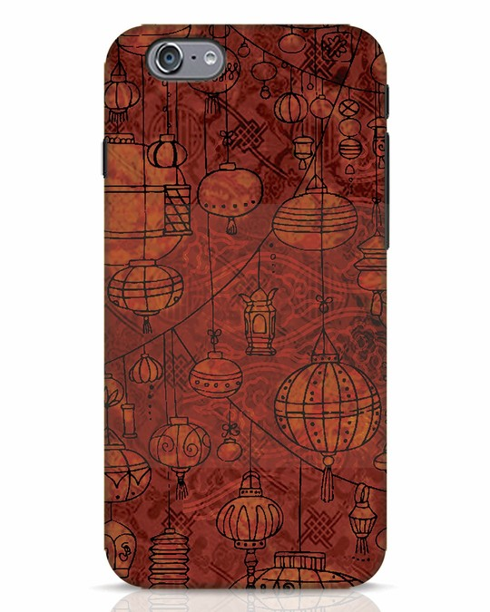 Shop Chinese Lanterns iPhone 6s Mobile Cover-Front
