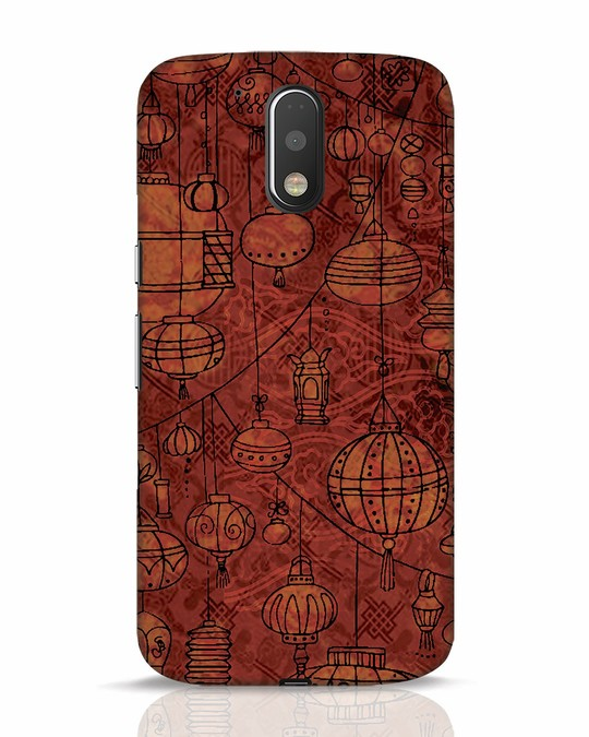 Shop Chinese Lanterns Moto G4 Plus Mobile Cover-Front