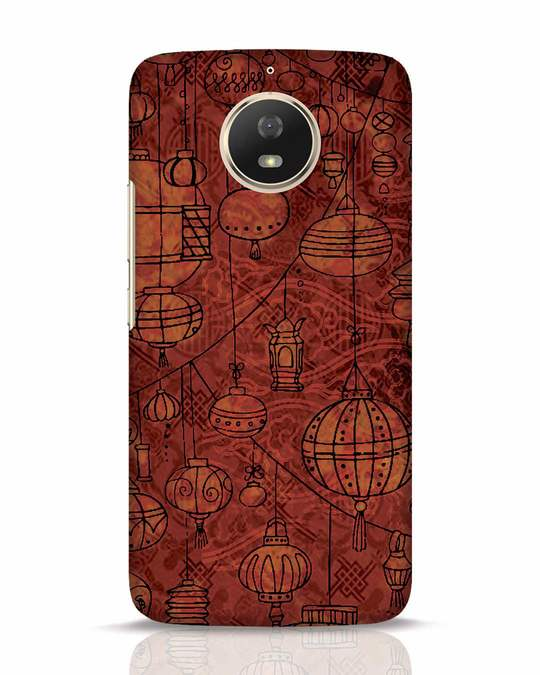 Shop Chinese Lanterns Moto G5s Mobile Cover-Front