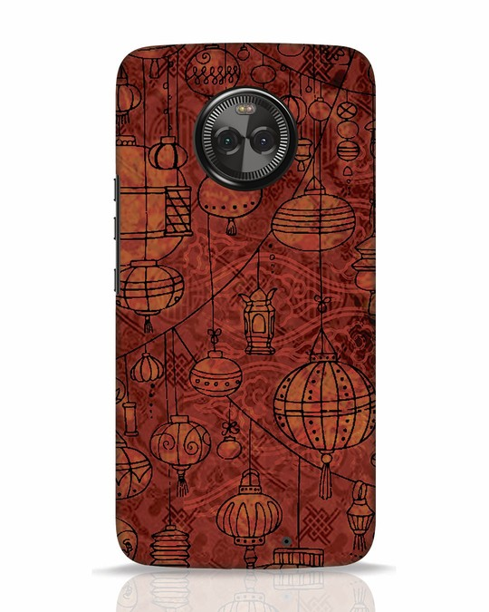 Shop Chinese Lanterns Moto X4 Mobile Cover-Front