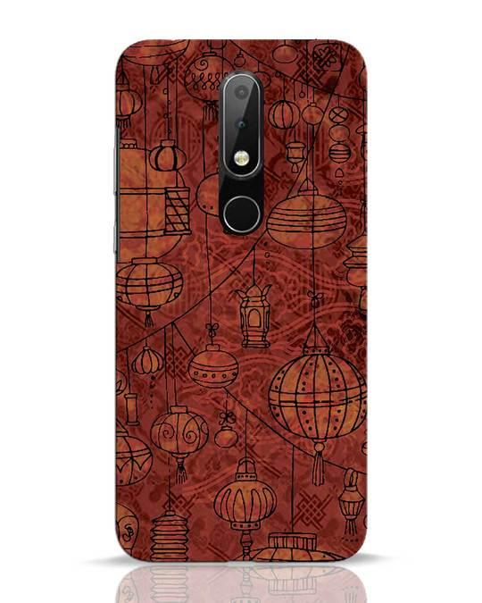 Shop Chinese Lanterns Nokia 6.1 Plus Mobile Cover-Front