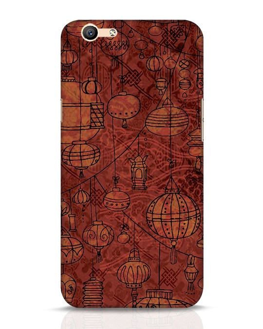 Shop Chinese Lanterns Oppo F1s Mobile Cover-Front