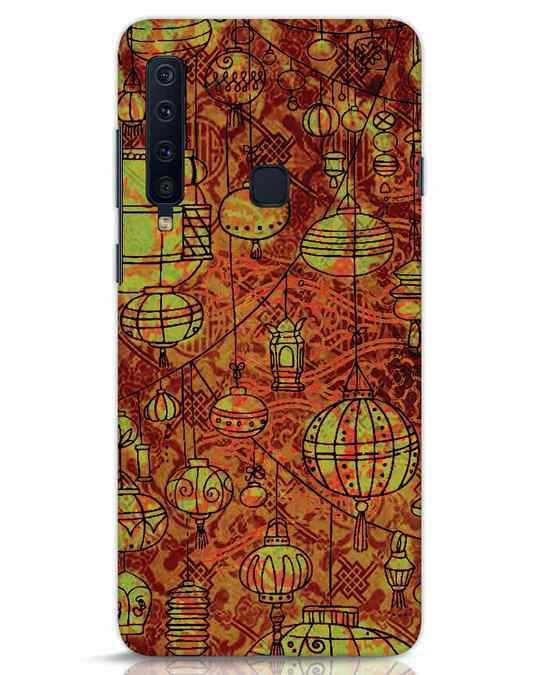 Shop Chinese Lanterns Samsung Galaxy A9 2018 Mobile Cover-Front