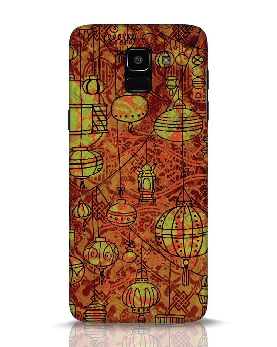 Shop Chinese Lanterns Samsung Galaxy J6 Mobile Cover-Front