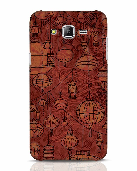 Shop Chinese Lanterns Samsung Galaxy J7 Mobile Cover-Front