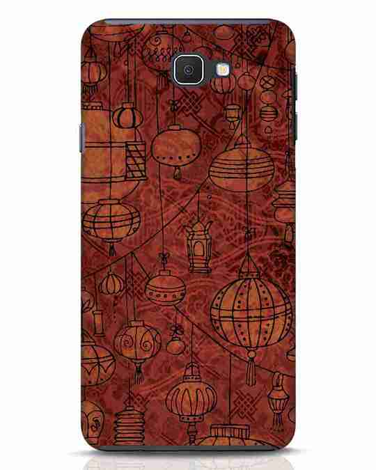 Shop Chinese Lanterns Samsung Galaxy J7 Prime Mobile Cover-Front