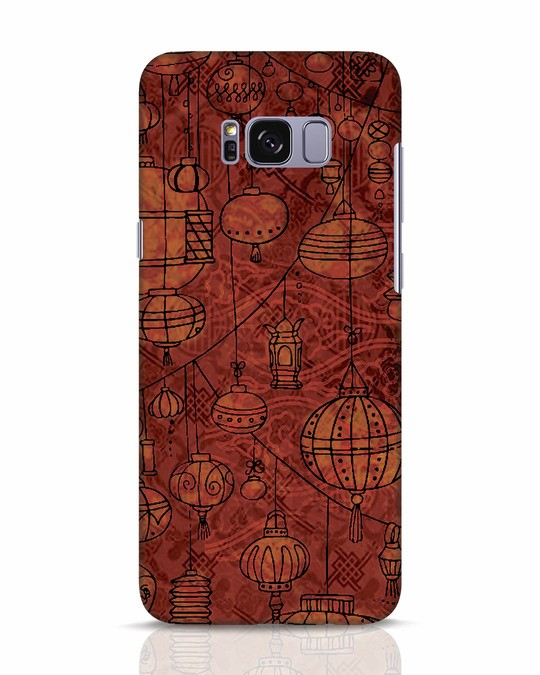Shop Chinese Lanterns Samsung Galaxy S8 Mobile Cover-Front