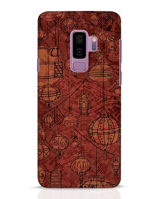 Shop Chinese Lanterns Samsung Galaxy S9 Plus Mobile Cover-Front