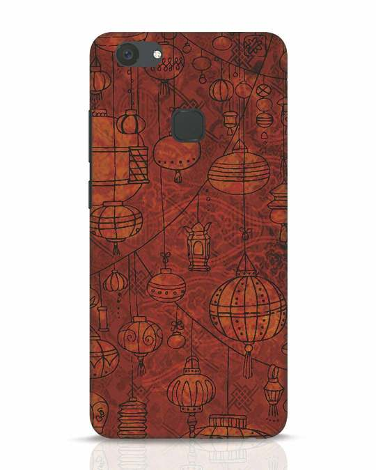 Shop Chinese Lanterns Vivo V7 Plus Mobile Cover-Front