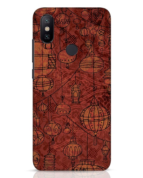 Shop Chinese Lanterns Xiaomi Mi A2 Mobile Cover-Front