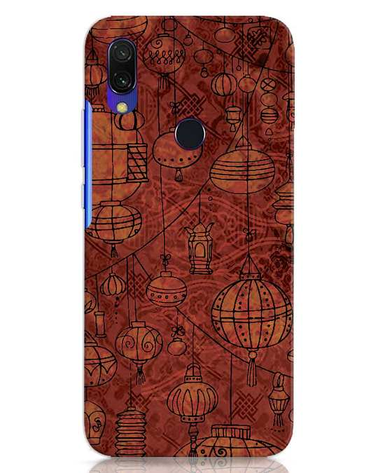 Shop Chinese Lanterns Xiaomi Redmi 7 Mobile Cover-Front
