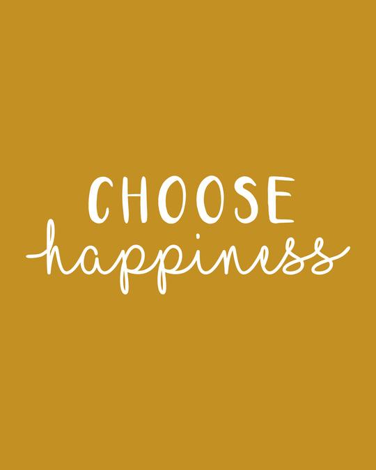Shop Choose Happiness Fleece Sweater-Full