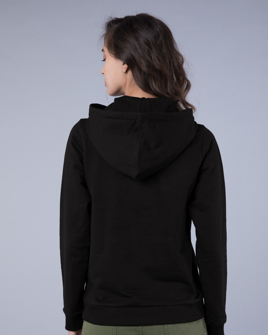 Shop Choose Happiness Fleece Hoodies-Back