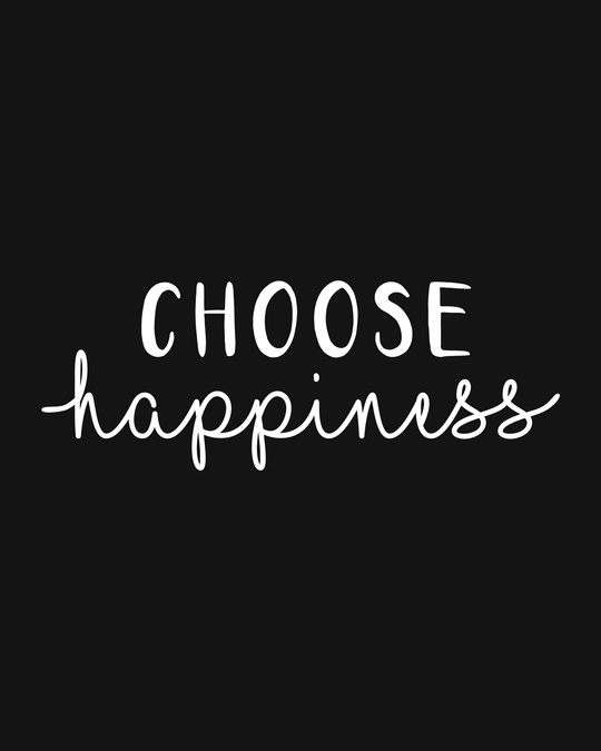 Shop Choose Happiness Fleece Hoodies-Full