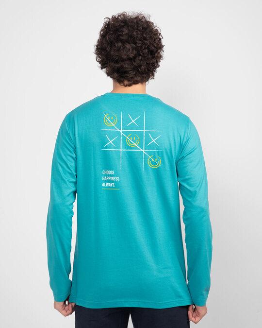 Shop Choose Happy 2.0 Full Sleeve T-Shirt-Design