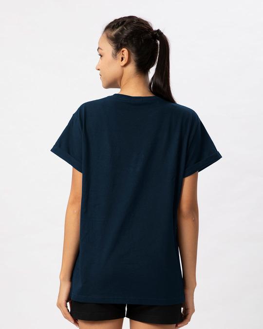 Shop Christmas Mickey Boyfriend T-Shirt (DL)-Full