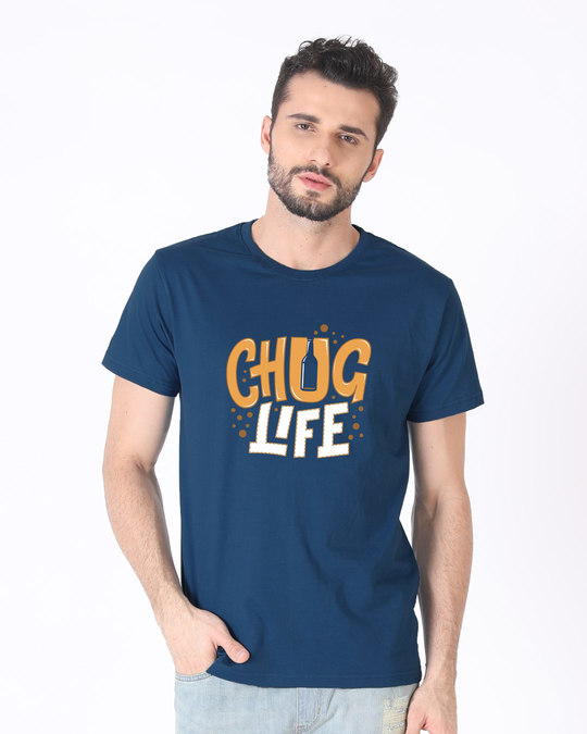 Shop Chug Life Half Sleeve T-Shirt-Back