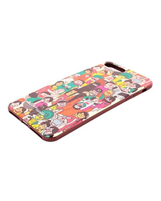 Shop Iphone 7 Plus Colourful Faces Mobile Cover-Back