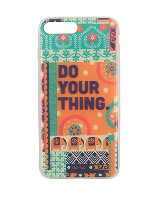 Shop Iphone 7 Plus Do Your Thing Mobile Cover-Front