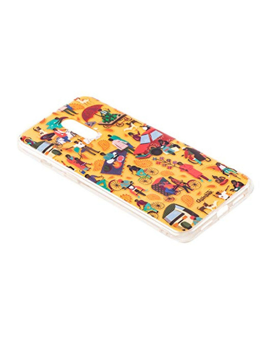 Shop Oneplus 7 Indian Traffic Mobile Cover-Design
