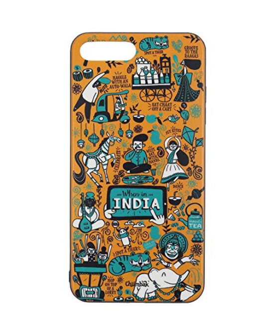 Shop Iphone 7 Plus When In India Mobile Cover-Front