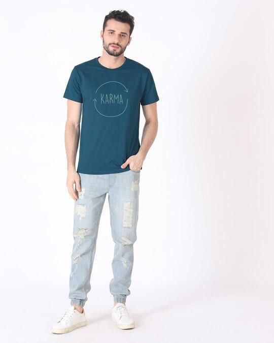 Shop Circle Of Life Half Sleeve T-Shirt