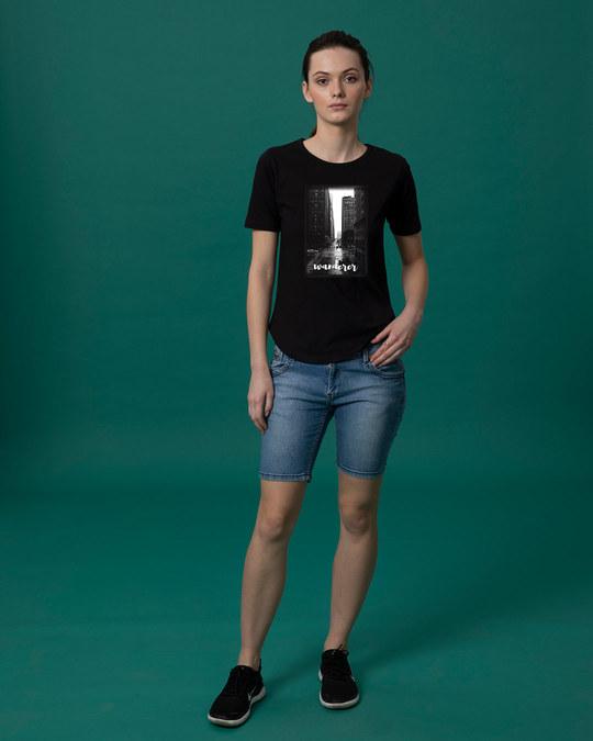 Shop City Wanderer Basic Round Hem T-Shirt