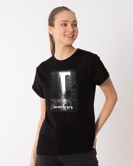Shop City Wanderer Boyfriend T-Shirt-Full