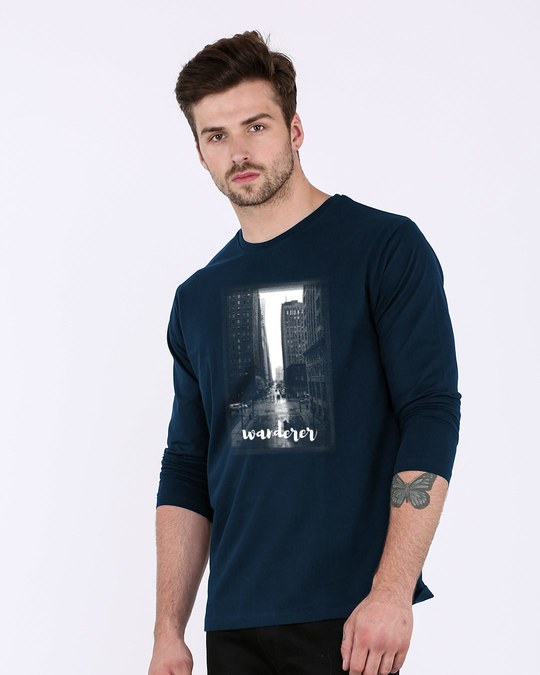 Shop City Wanderer Full Sleeve T-Shirt-Full