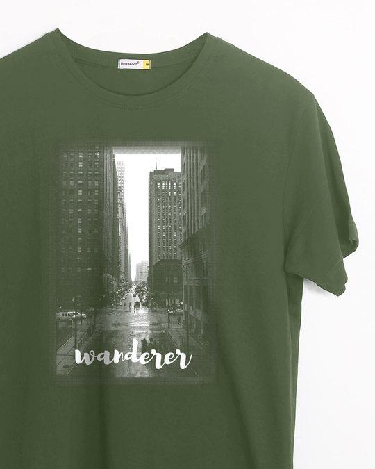 Shop City Wanderer Half Sleeve T-Shirt-Front