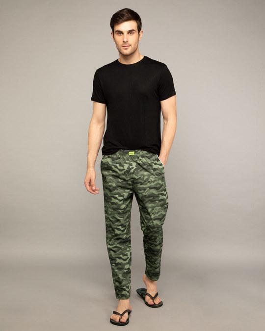 Shop Classic Camo All Over Printed Pyjama-Full