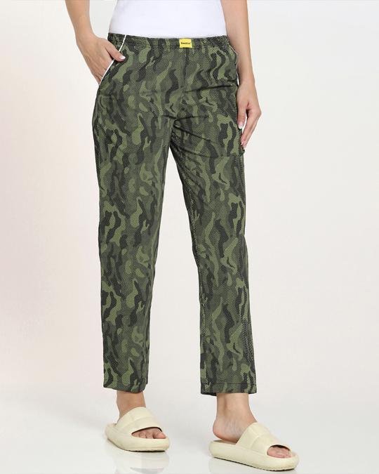 Shop Classic Camo All Over Printed Pyjama-Back