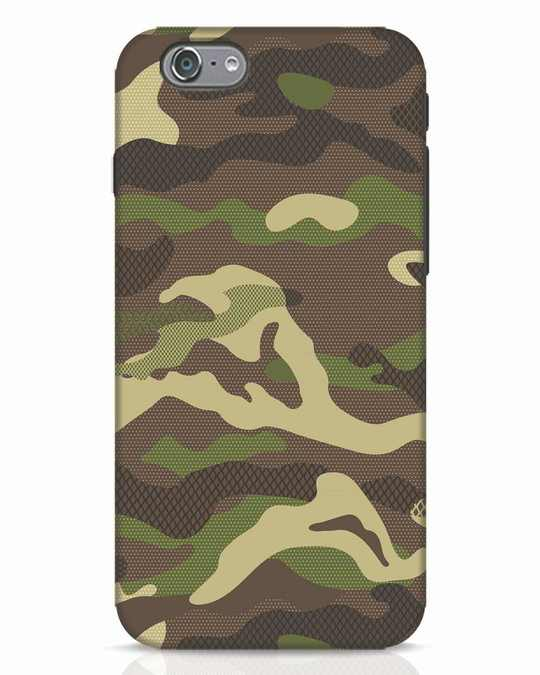 Shop Classic Camo iPhone 6 Mobile Cover-Front