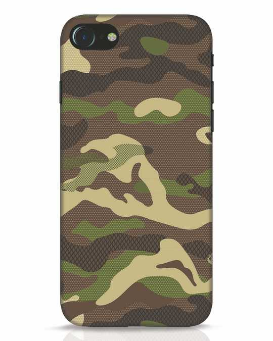 Shop Classic Camo iPhone 7 Mobile Cover-Front