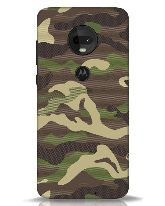 Shop Classic Camo Moto G7 Mobile Cover-Front