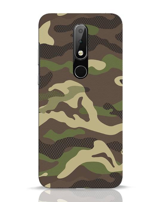 Shop Classic Camo Nokia 6.1 Plus Mobile Cover-Front