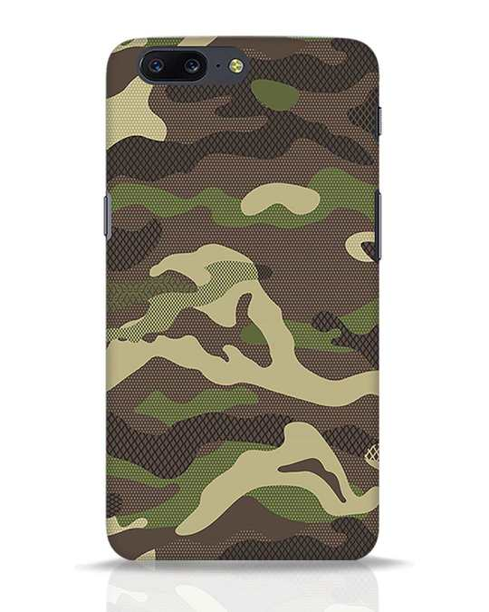 Shop Classic Camo OnePlus 5 Mobile Cover-Front