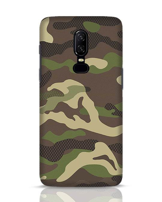 Shop Classic Camo OnePlus 6 Mobile Cover-Front