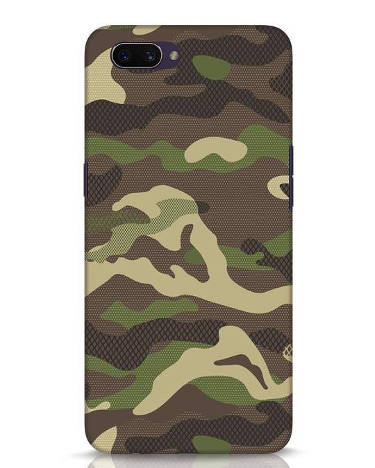 Shop Classic Camo Oppo A3S Mobile Cover-Front