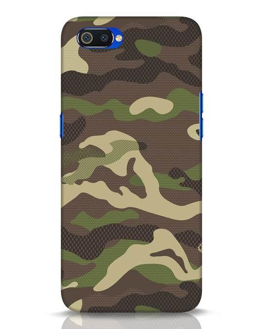 Shop Classic Camo Realme C2 Mobile Cover-Front