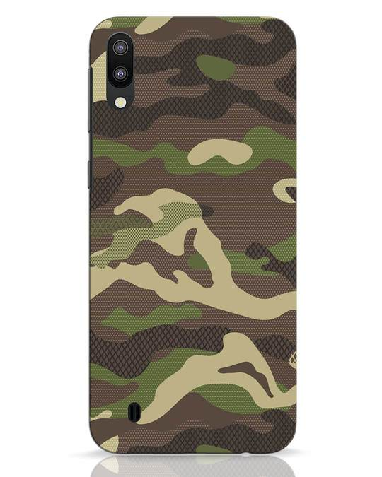 Shop Classic Camo Samsung Galaxy M10 Mobile Cover-Front