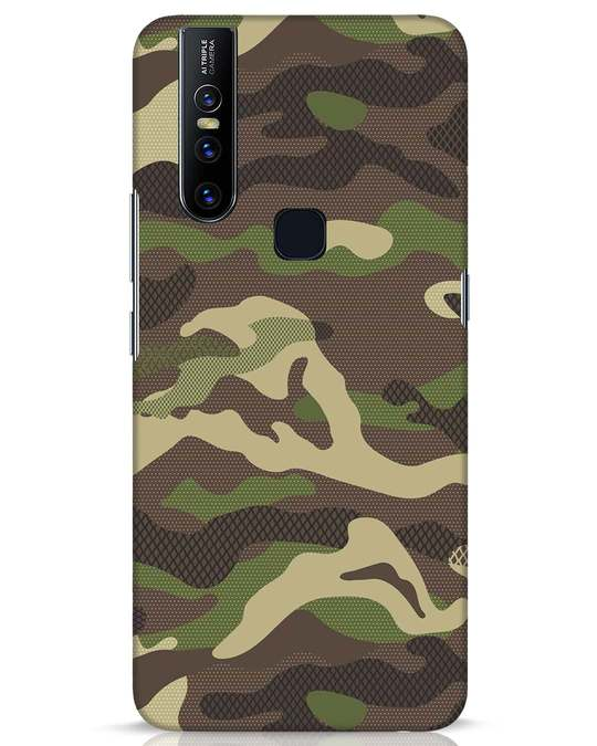 Shop Classic Camo Vivo V15 Mobile Cover-Front