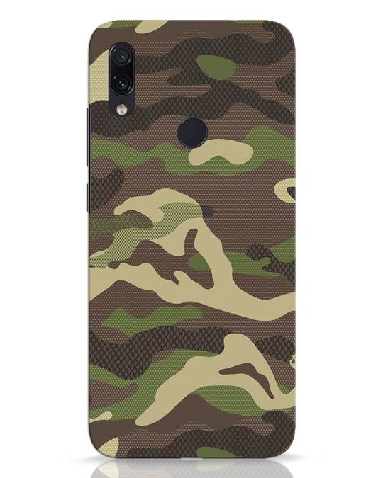 Shop Classic Camo Xiaomi Redmi Note 7 Mobile Cover-Front