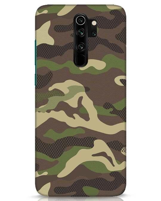 Shop Classic Camo Xiaomi Redmi Note 8 Pro Mobile Cover-Front