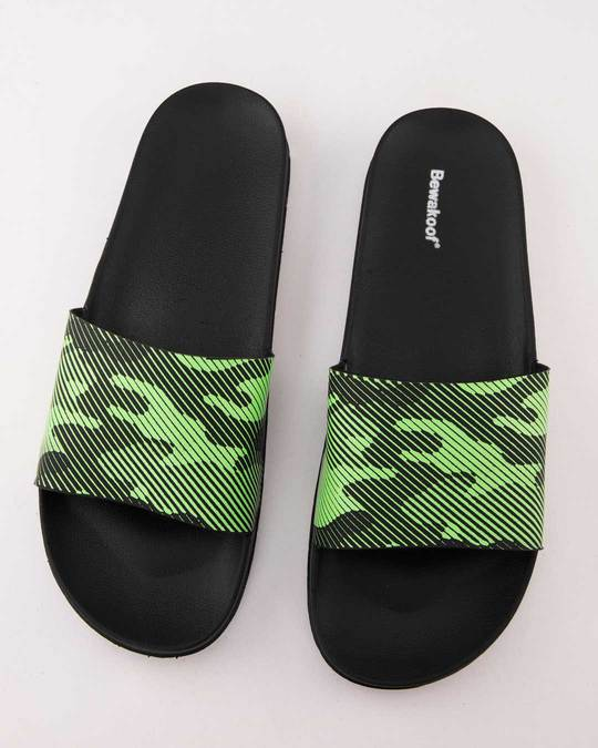 Shop Women Classic Camouflage Sliders-Back