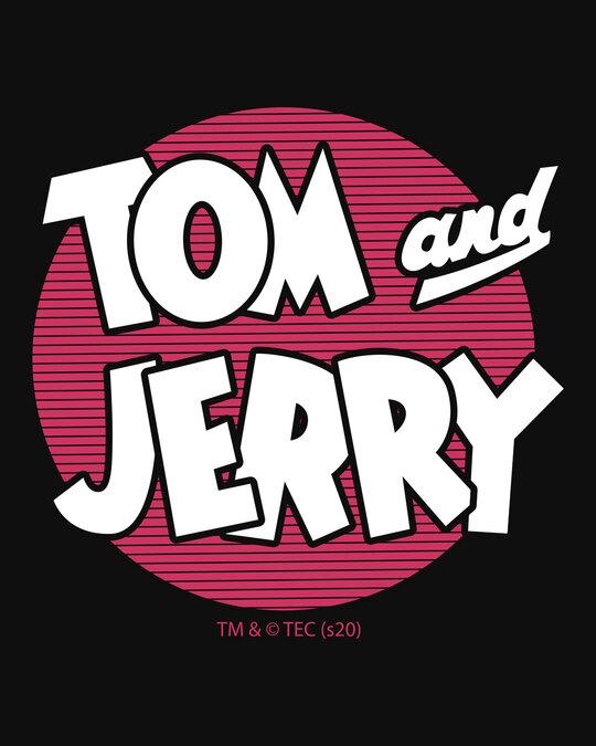 Shop Classic Tj Logo Printed Round Neck 3/4th Sleeve T-Shirt (TJL) Black-Full