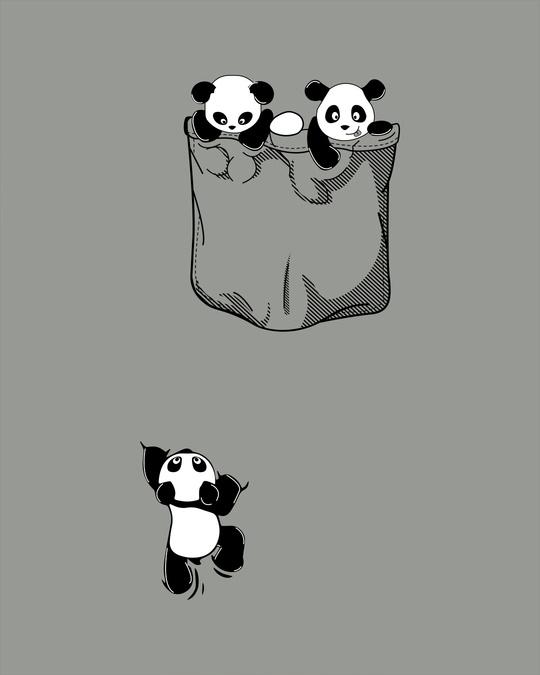 Shop Climbing Pocket Panda Boyfriend T-Shirt