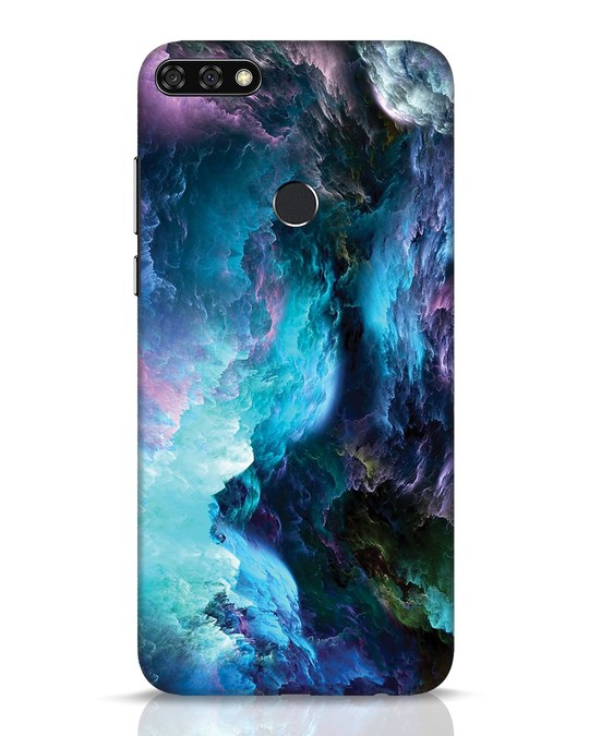 Shop Cloudy Huawei Honor 7C Mobile Cover-Front
