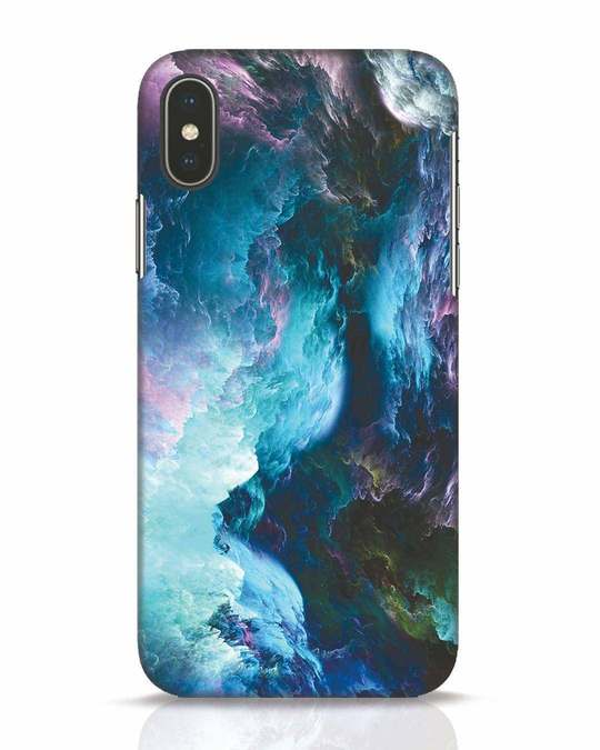 Shop Cloudy iPhone X Mobile Cover-Front